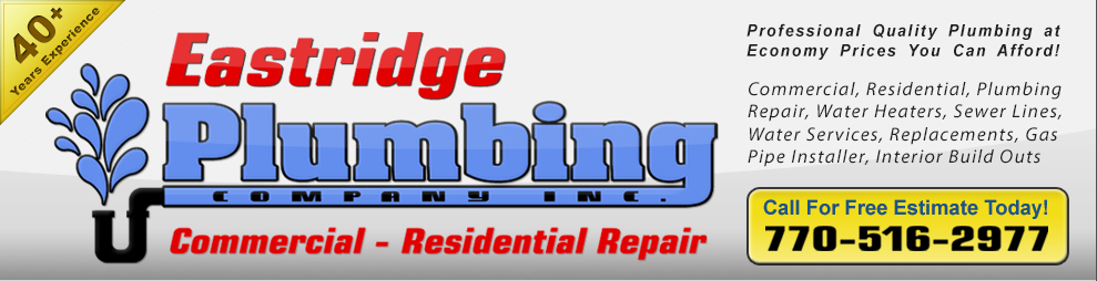 East Ridge Plumbing  - Kennesaw, Georgia - Best Plumber in Kennesaw